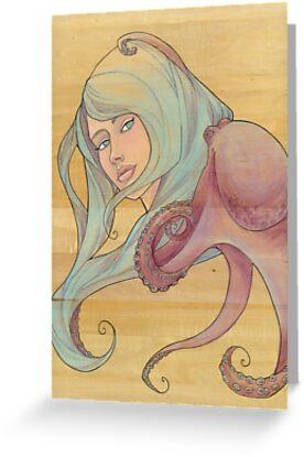 The Octopus Mermaid 3 by Karen  Hallion