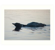 Loon Call Art Print