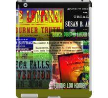 Feminist Posters iPad Case/Skin