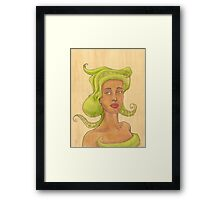Octopus Mermaid 2 Framed Print