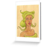 Octopus Mermaid 2 Greeting Card
