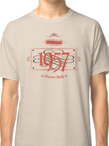 Since 1957 (Red&Black) Classic T-Shirt