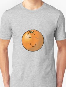 Orange in Black Unisex T-Shirt