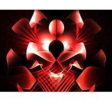 Red Moon Photographic Print
