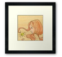 The Octopus Mermaid 1 Framed Print
