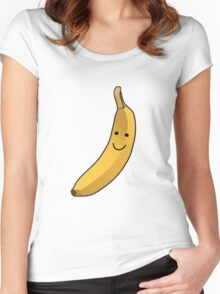 Banana Women's Fitted Scoop T-Shirt