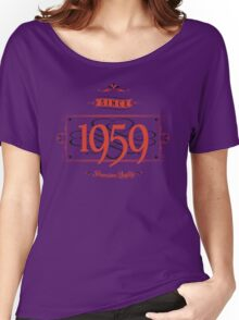 Since 1959 (Red&Black) Women's Relaxed Fit T-Shirt