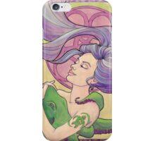 Tattooed Mermaid 9 iPhone Case/Skin
