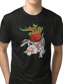 Okami - Amaterasu Rests Tri-blend T-Shirt