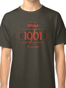 Since 1961 (Red&Black) Classic T-Shirt