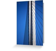 Steel Cables Greeting Card