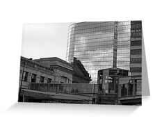 The Link – black and white photograph Greeting Card
