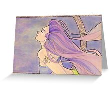 Tattooed Mermaid 4 Greeting Card