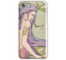 Tattooed Mermaid 3 iPhone Case/Skin