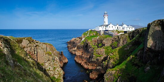 Fanad Head Lighthouse by Stefan Schnebelt