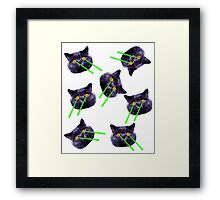 Cats Meow Framed Print