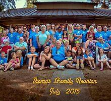 Thomas Family 2015 by Steve Walser