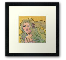Tattooed Mermaid 12 Framed Print