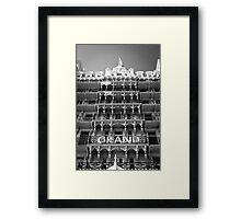 Grand Facade Framed Print