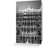 Grand Facade Greeting Card