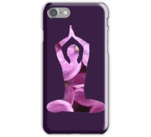 Petal Yoga iPhone Case/Skin