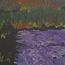 The Purple River by George Hunter