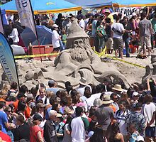 The 30th Annual  Sandcastle Building Contest  by heatherfriedman