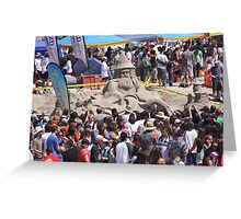 The 30th Annual  Sandcastle Building Contest  Greeting Card