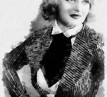 Bette Davis by John Springfield by esotericaart