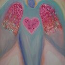 ANGELS OF AWAKENING -Garden Angel by Ella May