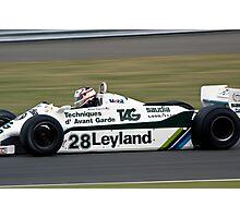 1981 Williams FW07/C Photographic Print