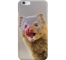 Slender Mongoose - Taste for Life iPhone Case/Skin
