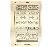 A Handbook Of Ornament With Three Hundred Plates Franz Sales Meyer 1896 0150 Bands Chain Poster