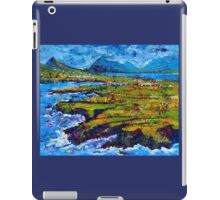 View from Clogher Head iPad Case/Skin