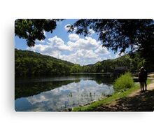 Stopping To Take In The SSSS View Canvas Print