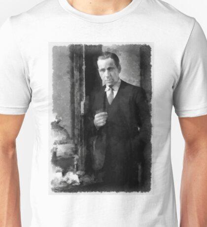 Humphrey Bogart by John Springfield Unisex T-Shirt