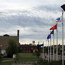 Early Morning Downtown Kenosha Wisconsin, USA by kkphoto1