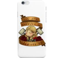 thor says you are worthy iPhone Case/Skin