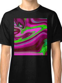 Pink, purple and green Classic T-Shirt