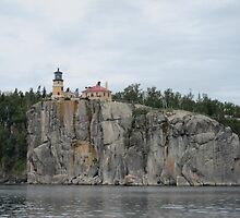 Split Rock Lighthouse by Rochelle Smith