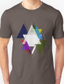 Colors Triangles Unisex T-Shirt