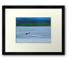 Landing.... Framed Print