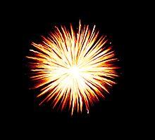 Yellow Firework by DeePhoto