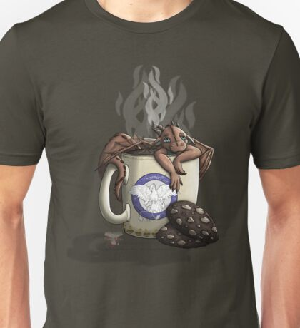 [Tea Cup Dragon] Mocha Unisex T-Shirt