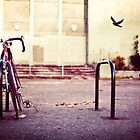 Abandoned bike by Sharonroseart