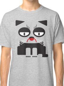 cheerless grumpy looking cat Classic T-Shirt