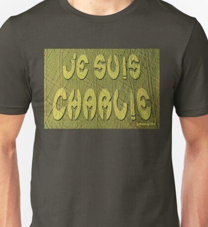 Je Suis Charlie Crop Circle Unisex T-Shirt