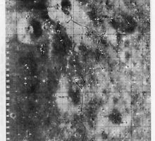 Apollo 16 - Moon Landing Site Map - a16.lsp266 by Djidiouf-PD