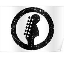Stratocaster 70s Headstock Poster