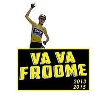 Chris Froome - Va Vaa Froome (Tour De France 2015) Photographic Print